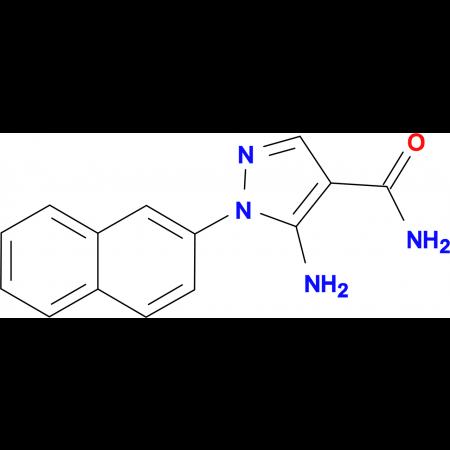 5-Amino-1-(2-naphthyl)-1H-pyrazole-4-carboxamide
