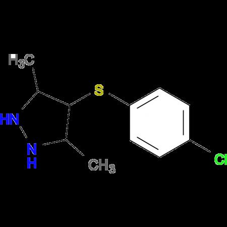 4-[(4-Chlorophenyl)thio]-3,5-dimethyl-1H-pyrazole
