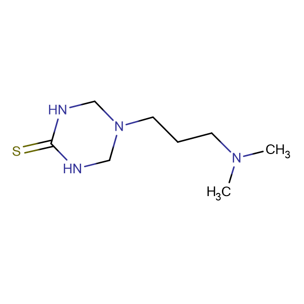 5-[3-(Dimethylamino)propyl]-1,3,5-triazinane-2-thione