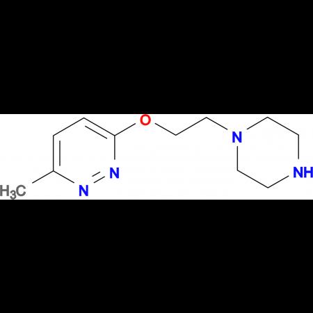 3-methyl-6-(2-piperazin-1-ylethoxy)pyridazine