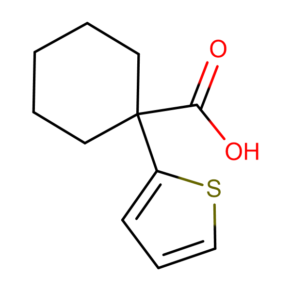 1-(2-thienyl)cyclohexanecarboxylic acid