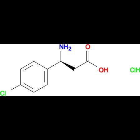 (S)-3-AMINO-3-(4-CHLOROPHENYL)PROPANOIC ACID HCL