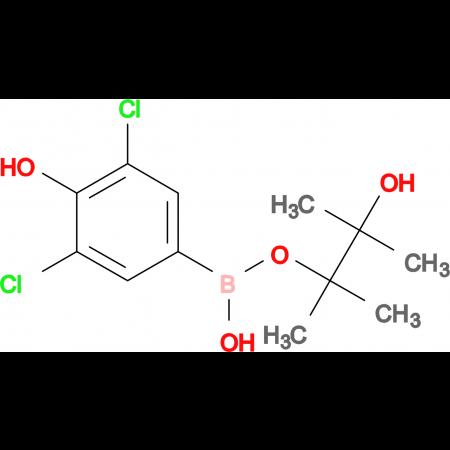 3,5-DICHLORO-4-HYDROXYPHENYLBORONIC ACID PINACOL ESTER