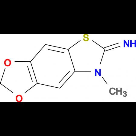 7-methyl-[1,3]dioxolo[4,5:4,5]benzo[1,2-d]thiazol-6(7H)-imine