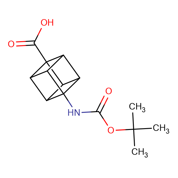(1s,2R,3r,8S)-4-((tert-butoxycarbonyl)amino)cubane-1-carboxylic acid