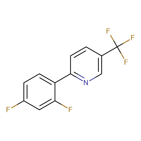 2-(2,4-Difluorophenyl)-5-(trifluoromethyl)pyridine