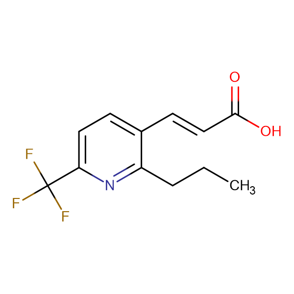 (E)-3-(2-Propyl-6-(trifluoromethyl)pyridin-3-yl)acrylic acid