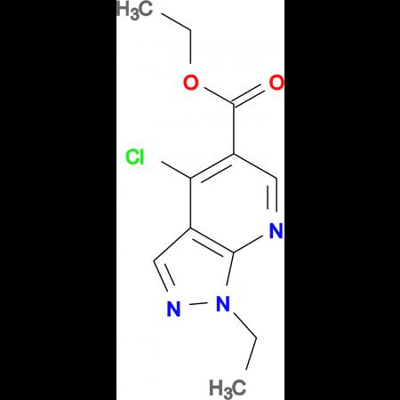 ethyl 4-chloro-1-ethyl-1H-pyrazolo[3,4-b]pyridine-5-carboxylate