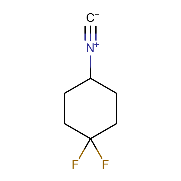 1,1-difluoro-4-isocyanocyclohexane