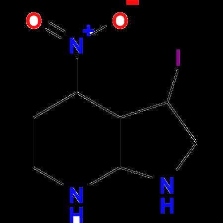 3-iodo-4-nitro-1H-pyrrolo[2,3-b]pyridine