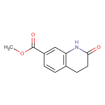 Methyl 2-oxo-1,2,3,4-tetrahydroquinoline-7-carboxylate