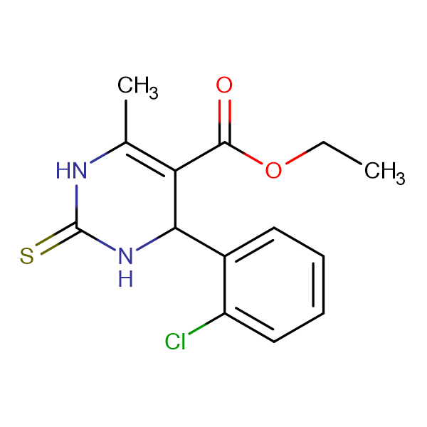 Ethyl 4-(2-chlorophenyl)-6-methyl-2-thioxo-1,2,3,4-tetrahydropyrimidine-5-carboxylate
