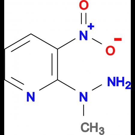 2-(1-methylhydrazino)-3-nitropyridine