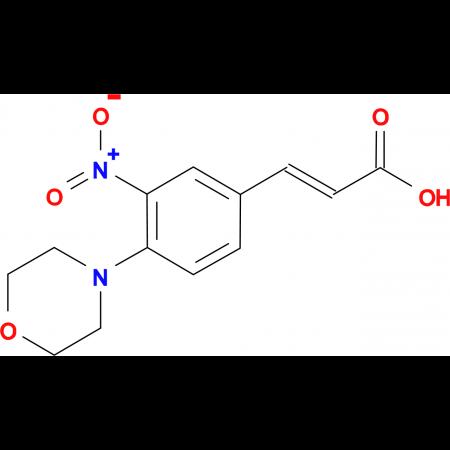 3-(4-morpholin-4-yl-3-nitrophenyl)acrylic acid
