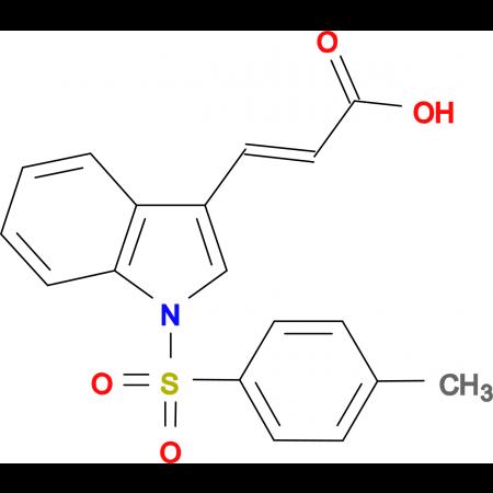 3-{1-[(4-methylphenyl)sulfonyl]-1H-indol-3-yl}acrylic acid