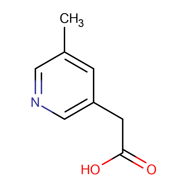 2-(5-methylpyridin-3-yl)acetic acid