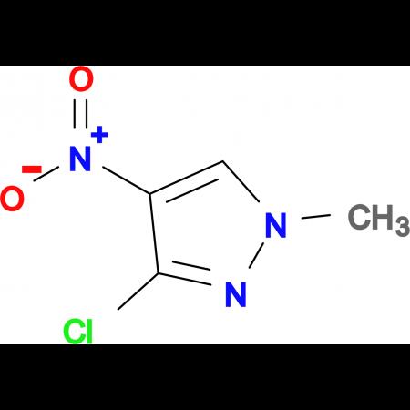 3-Chloro-1-methyl-4-nitro-1H-pyrazole