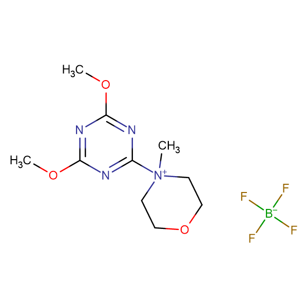 4-(4,6-Dimethoxy-1,3,5-triazin-2-yl)-4-methylmorpholin-4-ium tetrafluoroborate