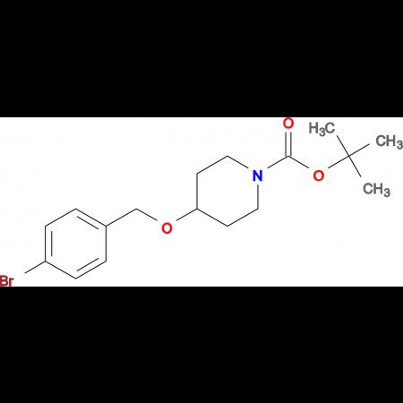 tert-Butyl 4-((4-bromobenzyl)oxy)piperidine-1-carboxylate
