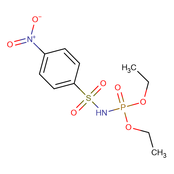 N-(diethoxyphosphoryl)-4-nitrobenzene-1-sulfonamide