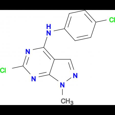 6-Chloro-N-(4-chlorophenyl)-1-methyl-1H-pyrazolo[3,4-d]pyrimidin-4-amine