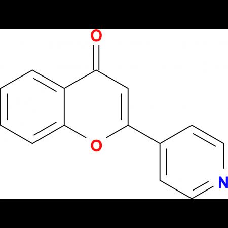 2-(pyridin-4-yl)-4H-chromen-4-one