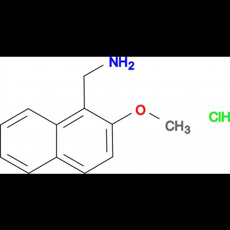 1-(2-methoxynaphthalen-1-yl)methanamine hydrochloride
