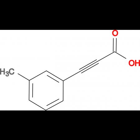 3-(3-methylphenyl)prop-2-ynoic acid