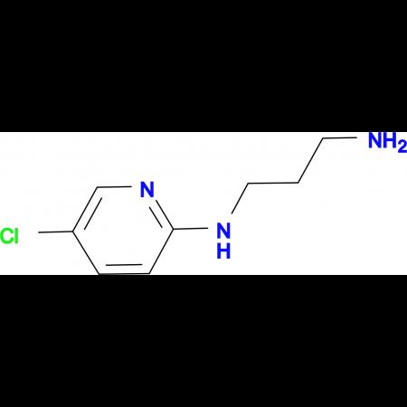 N1-(5-chloropyridin-2-yl)propane-1,3-diamine