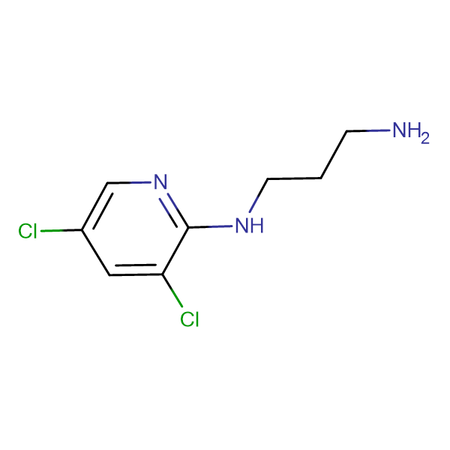 N1-(3,5-dichloropyridin-2-yl)propane-1,3-diamine