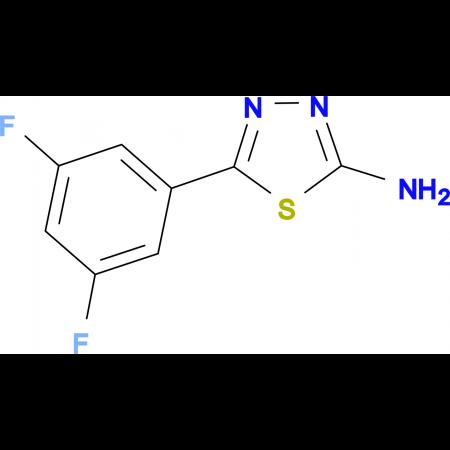 5-(3,5-difluorophenyl)-1,3,4-thiadiazol-2-amine