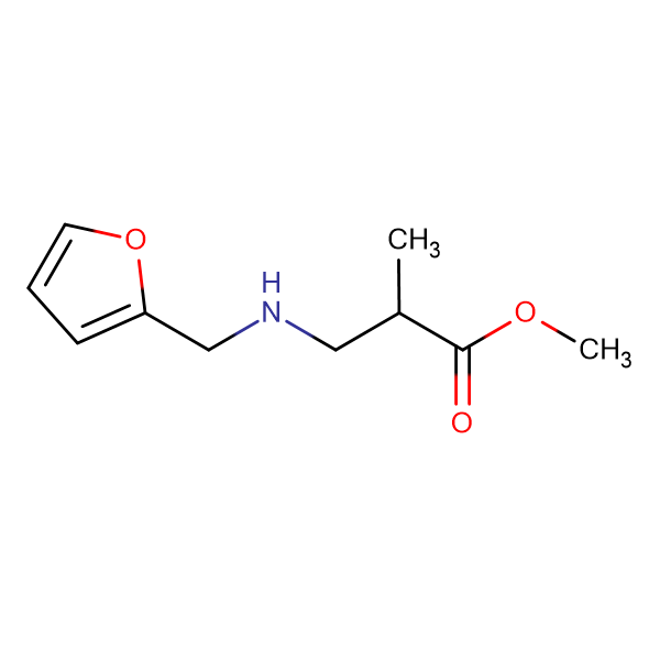 methyl 3-{[(furan-2-yl)methyl]amino}-2-methylpropanoate