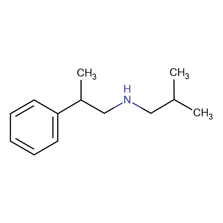 (2-methylpropyl)(2-phenylpropyl)amine