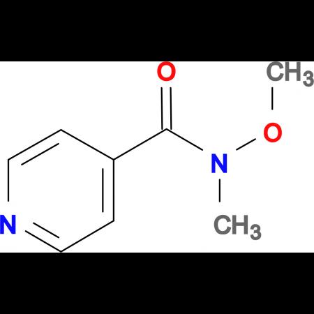N-methoxy-N-methylpyridine-4-carboxamide