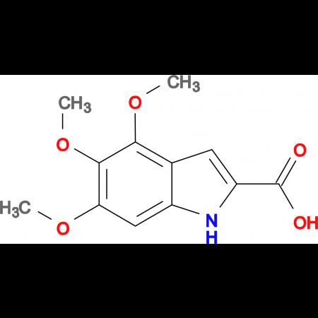 4,5,6-trimethoxy-1H-indole-2-carboxylic acid