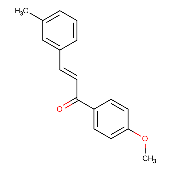 (2E)-1-(4-methoxyphenyl)-3-(3-methylphenyl)prop-2-en-1-one