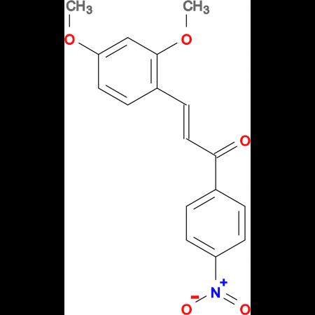 (2E)-3-(2,4-dimethoxyphenyl)-1-(4-nitrophenyl)prop-2-en-1-one