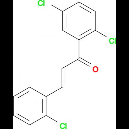(2E)-3-(2-chlorophenyl)-1-(2,5-dichlorophenyl)prop-2-en-1-one