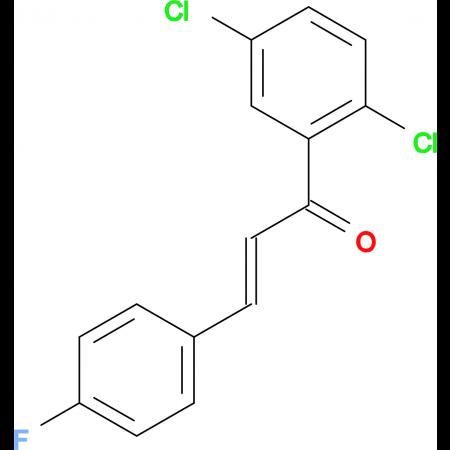 (2E)-1-(2,5-dichlorophenyl)-3-(4-fluorophenyl)prop-2-en-1-one