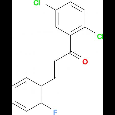 (2E)-1-(2,5-dichlorophenyl)-3-(2-fluorophenyl)prop-2-en-1-one