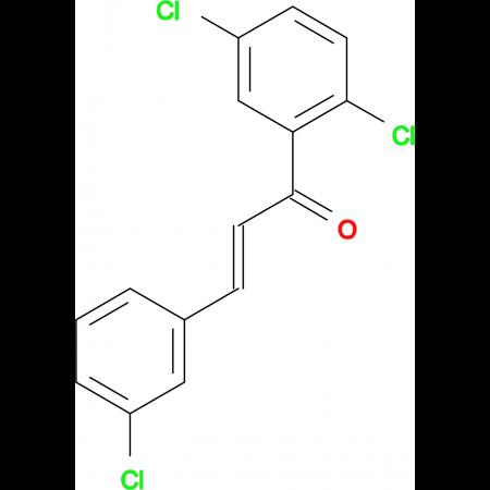 (2E)-3-(3-chlorophenyl)-1-(2,5-dichlorophenyl)prop-2-en-1-one