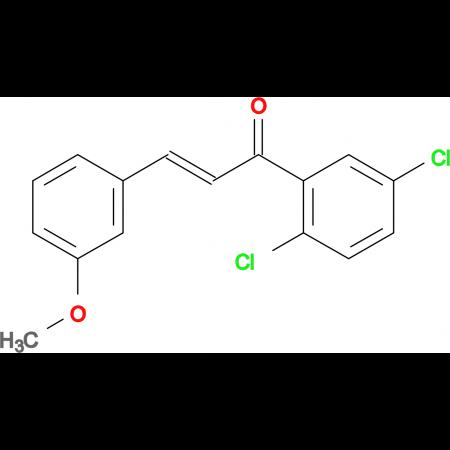 (2E)-1-(2,5-dichlorophenyl)-3-(3-methoxyphenyl)prop-2-en-1-one