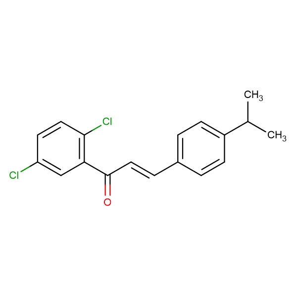 (2E)-1-(2,5-dichlorophenyl)-3-[4-(propan-2-yl)phenyl]prop-2-en-1-one