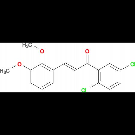 (2E)-1-(2,5-dichlorophenyl)-3-(2,3-dimethoxyphenyl)prop-2-en-1-one