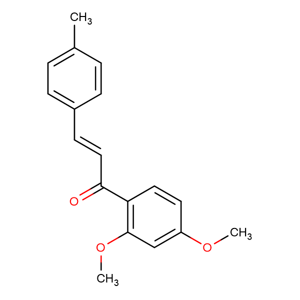 (2E)-1-(2,4-dimethoxyphenyl)-3-(4-methylphenyl)prop-2-en-1-one