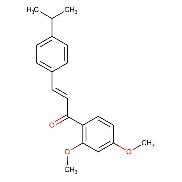(2E)-1-(2,4-dimethoxyphenyl)-3-[4-(propan-2-yl)phenyl]prop-2-en-1-one