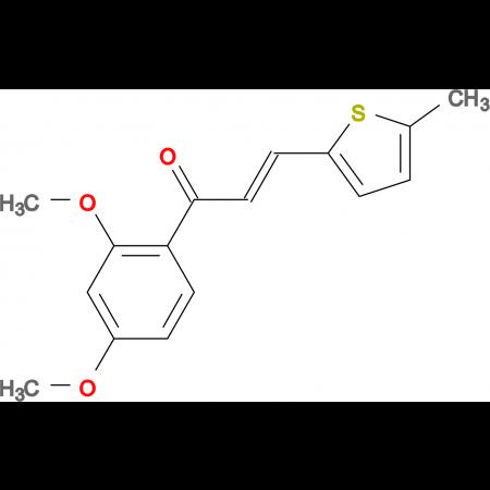 (2E)-1-(2,4-dimethoxyphenyl)-3-(5-methylthiophen-2-yl)prop-2-en-1-one