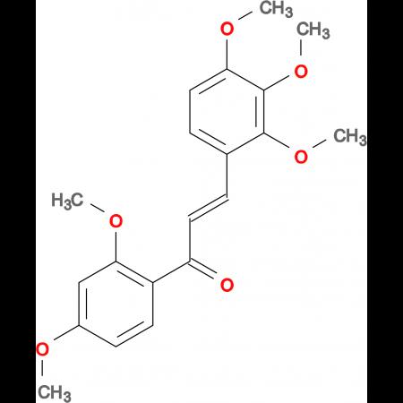 (2E)-1-(2,4-dimethoxyphenyl)-3-(2,3,4-trimethoxyphenyl)prop-2-en-1-one