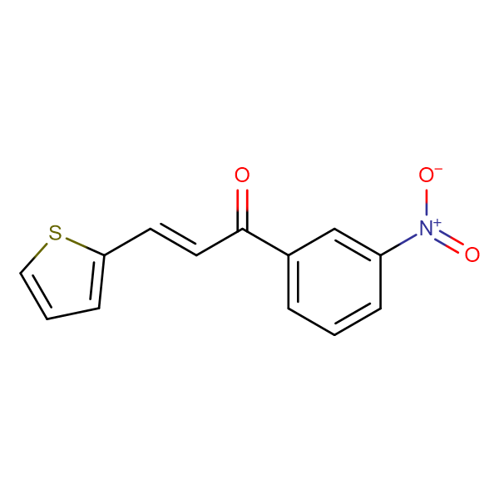 (2E)-1-(3-nitrophenyl)-3-(thiophen-2-yl)prop-2-en-1-one