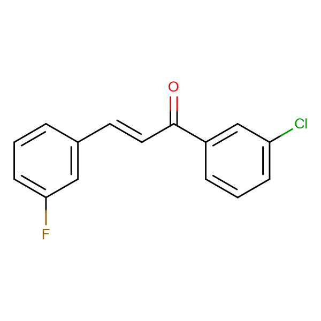 (2E)-1-(3-chlorophenyl)-3-(3-fluorophenyl)prop-2-en-1-one